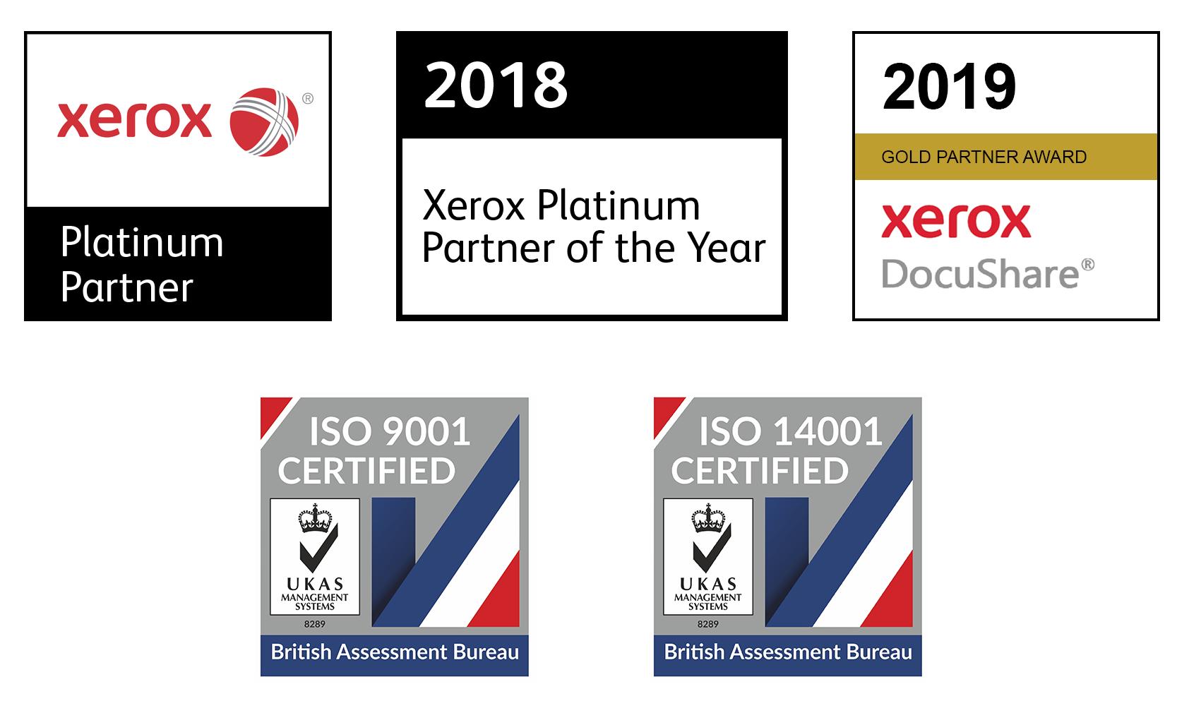 2019 Award Logos and ISO