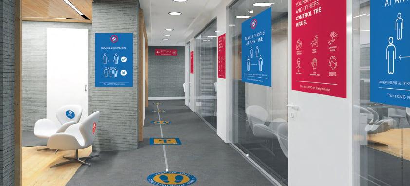 Hallway Signage