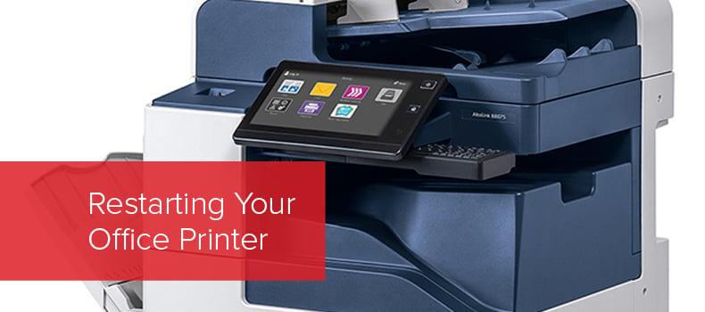 Restarting Your Office Printer