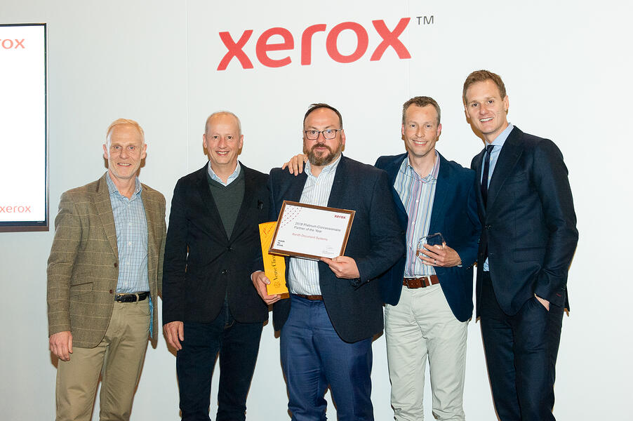 Xerox Managed Print Service Partner of the Year (UK & Ireland) for the 8th year running